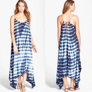 Billabong blue maxi dress